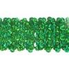 Sequin Stretch 5Row Hologram Green